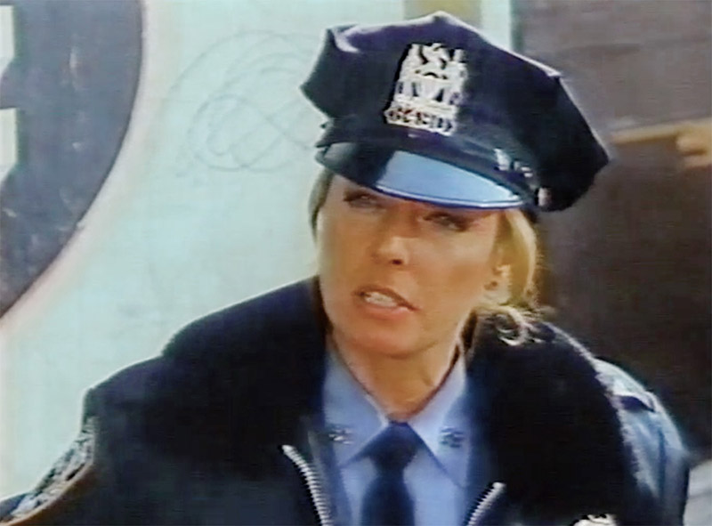 Karlen on Cagney & Lacey as Officer Walters