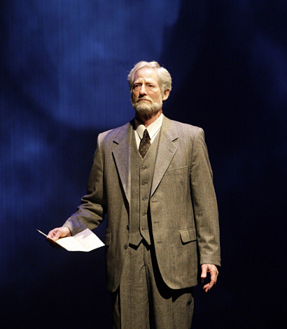 Performing a monologue in a production with the South Coast Repertory