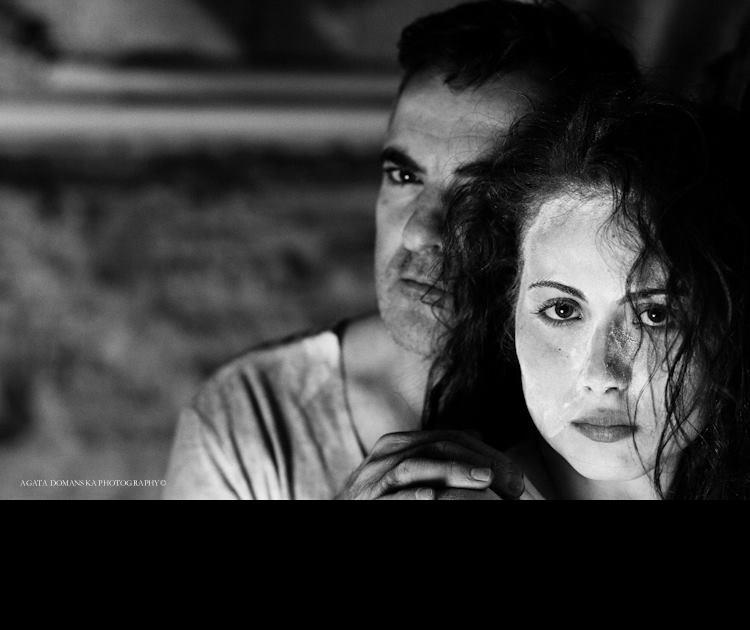 Kruszelnicki acting with Academy alum Agata Domanska